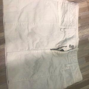 Size 10 white skirt